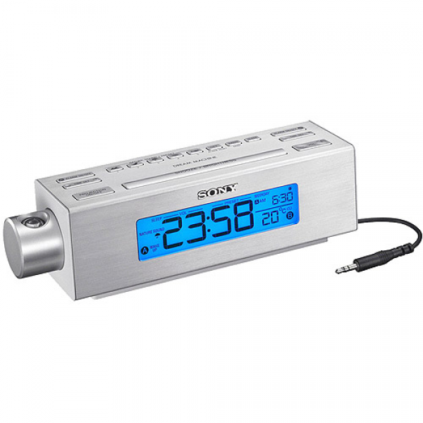 Nature Sounds Clock Radio, AM/FM Clock Radio, Projection Clock ...