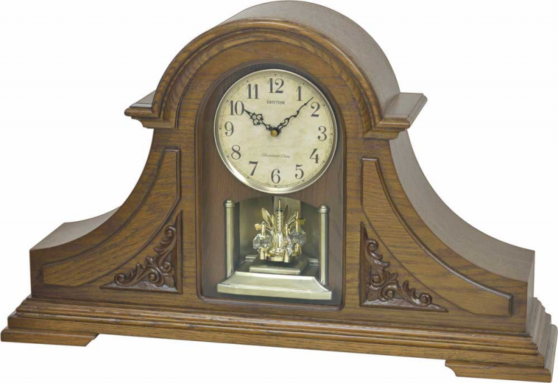 ... rhythm mantel clocks wsm luminous king mantel clock by rhythm clocks