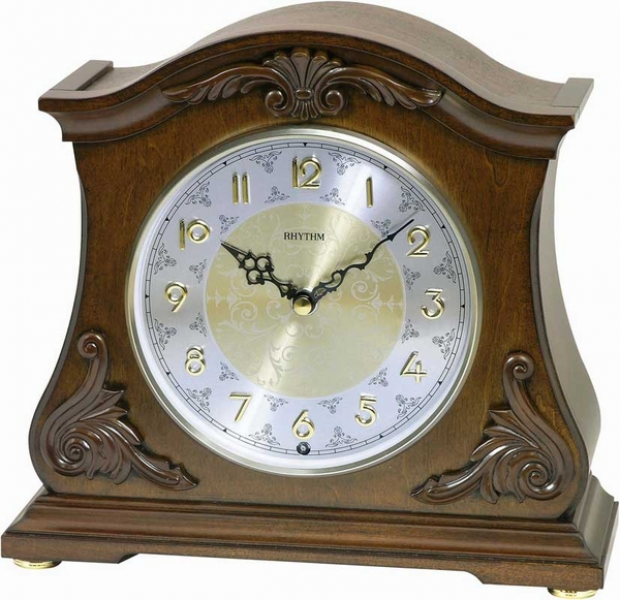 Joyful Versailles Musical Mantel Clock by Rhythm Clocks