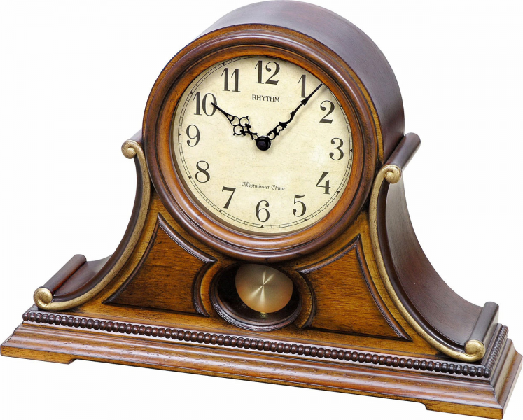 ... cart home $ 250 $ 499 clocks wsm tuscany ii mantel clock by rhythm