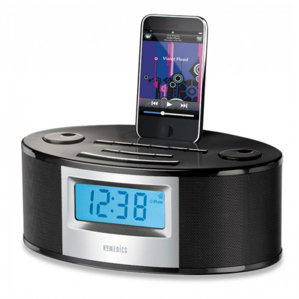 Zoom View - SoundSpa Fusion Alarm Clock Radio with iPhone iPod Dock SS ...