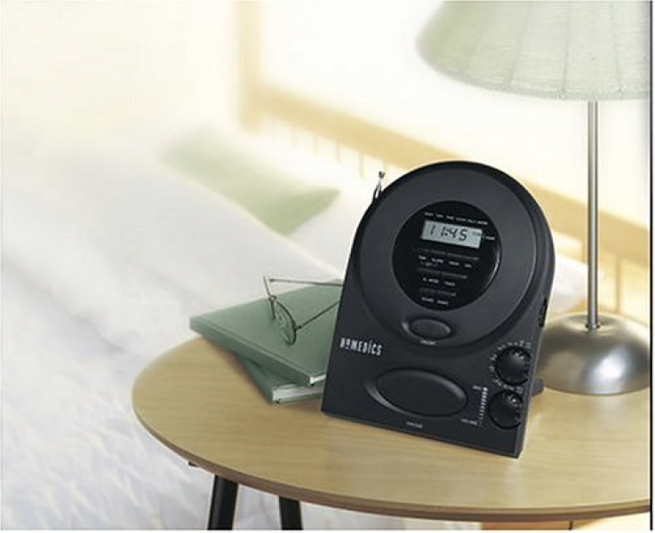 Homedics Envirascape Sound Spa Alarm Clock Radio