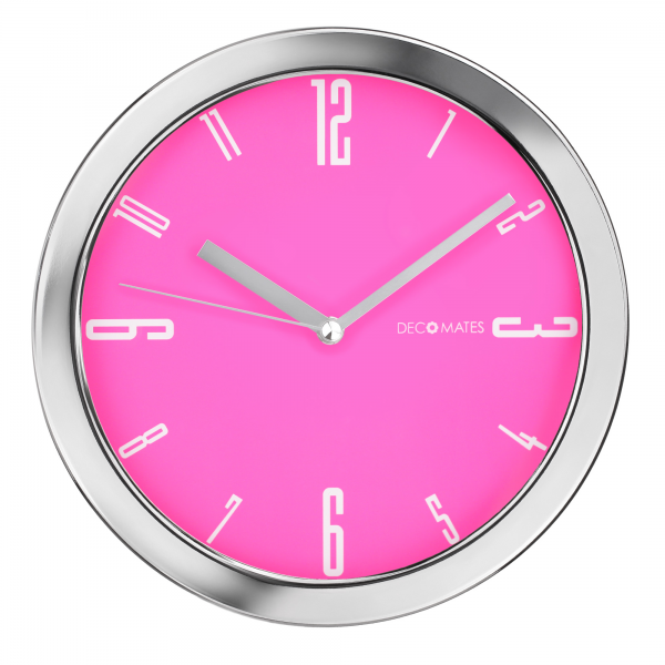 DecoMates-Home-Kitchen-Non-Ticking-Silent-Wall-Clock-Vivid-Assorted ...