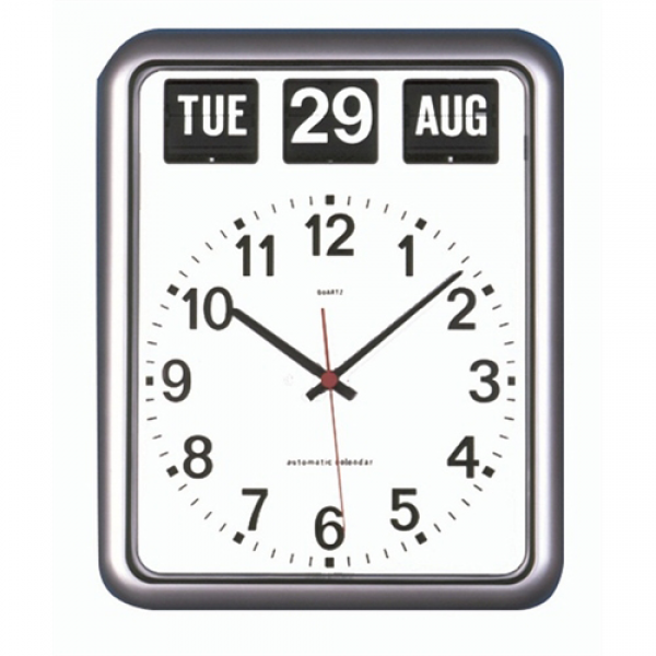 Alzheimer's Day & Date Clock | Easy to Read Clocks for the Elderly I ...