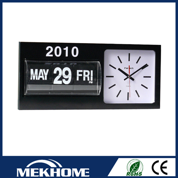 flip day date wall clock/wall clock with day and date, View wall clock ...