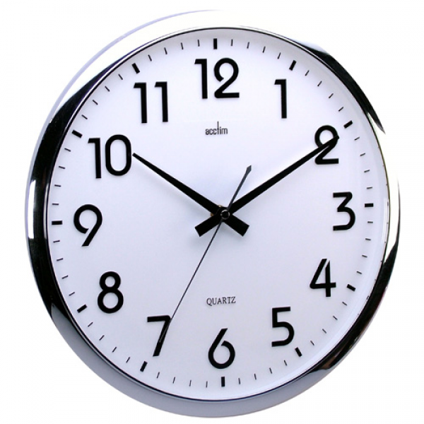 Orion silent sweeping 32cm wall clock