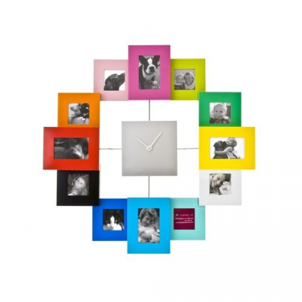 The Big Clock Store | PT Photo Frame Clock Family Time (40 cm)