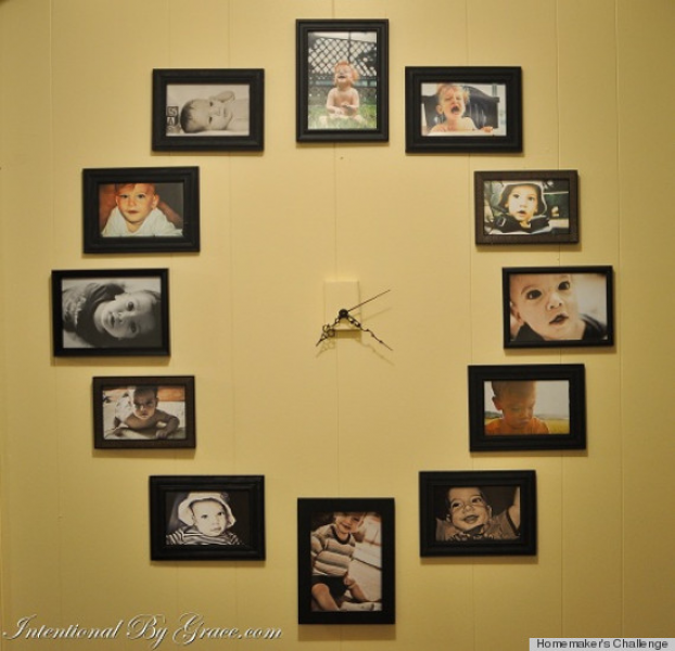 Clock Ideas That Will Add A Touch Of DIY To Any Space (PHOTOS)