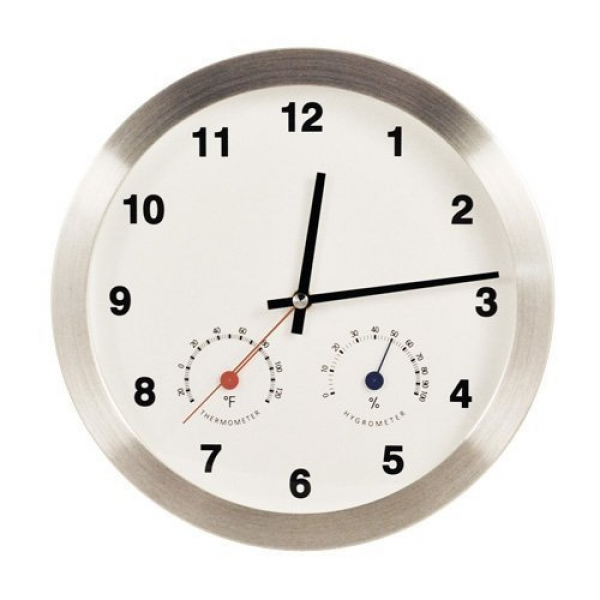 Modern Multiplex Non-Ticking Silent Wall Clock with Built-in ...