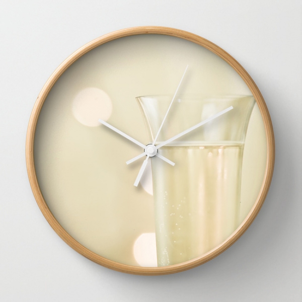 Toast Wall Clock by Jessica Torres Photography | Society6