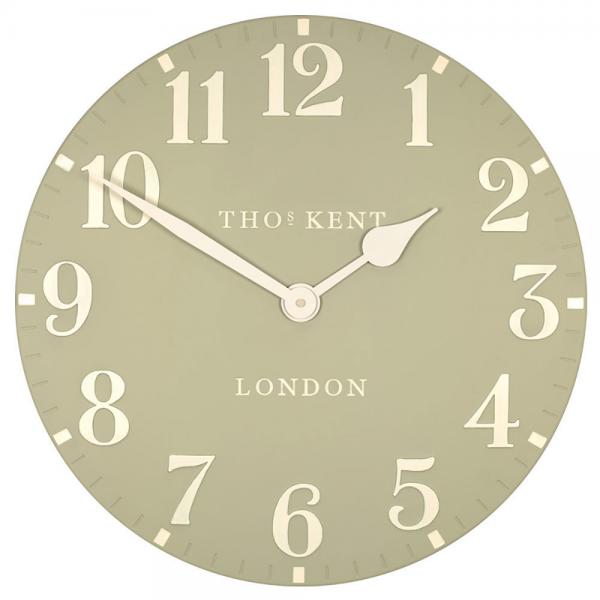 Thos Kent|Thomas Kent 20 Grand Arabic Stone Wall Clock - Candle and ...