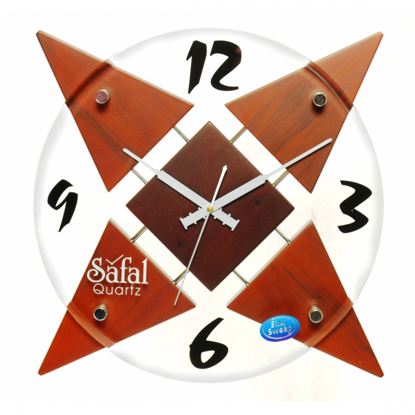 Class star shape wall clocks online purchase | Designer & Funky