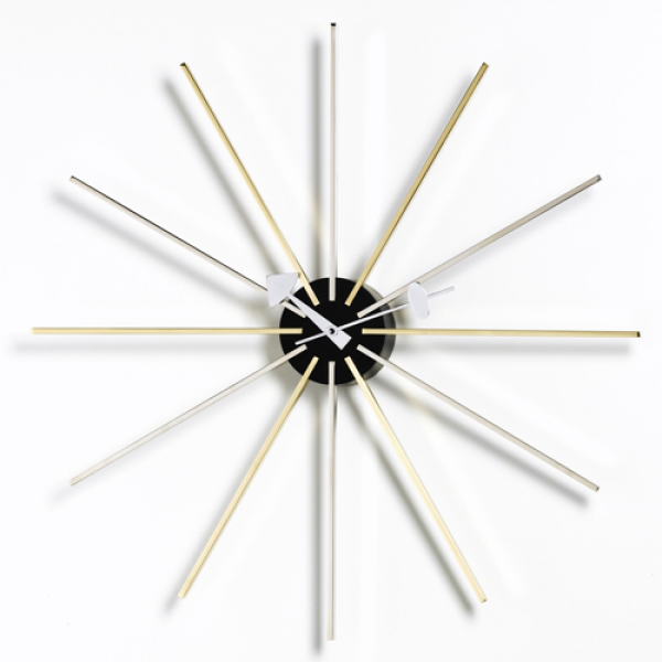 STAR clock Vitra by George Nelson