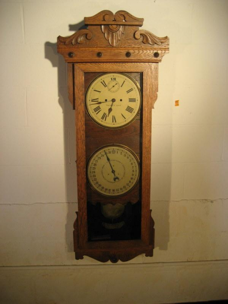 Antique New Haven Wall Clock : Lot 12137