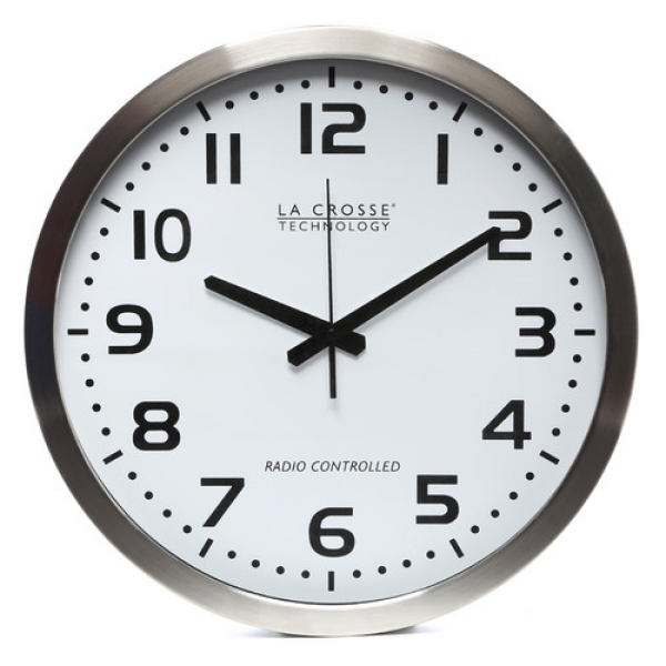 La Crosse Technology 16 Atomic Analog Wall Clock & Reviews | Wayfair