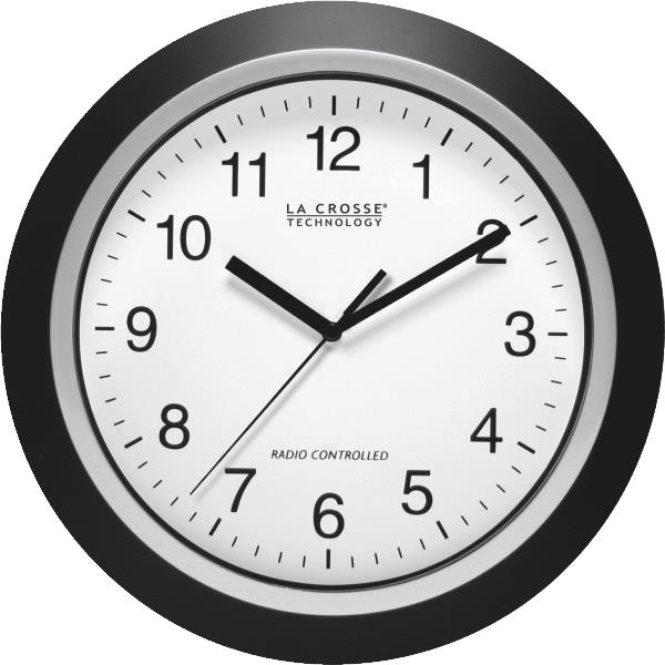 La Crosse Technology WT-3129B Atomic Analog Wall Clock 12 at ...