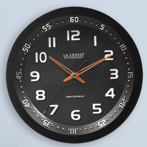 ... Technology La Crosse Technology 10 Chapter Ring Analog Wall Clock