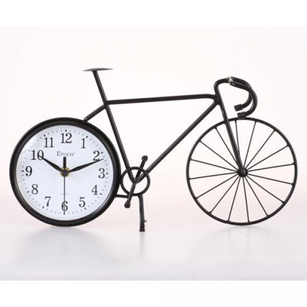Maples Sales Bike Silhouette Table / Wall Clock - Wall Clocks at ...