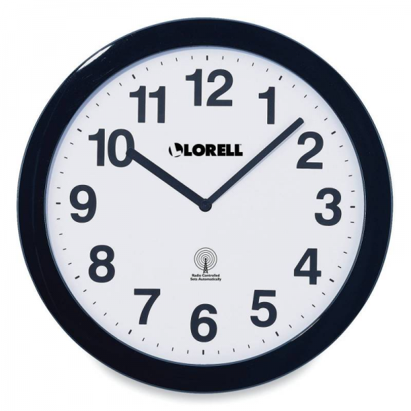 Educational Clocks - 1333518 - Lorell Wall Clock 11 Arabic Numerals ...