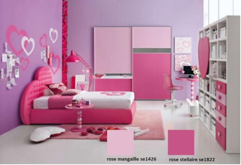 Re: idee peinture seigneurie chambre bebe fille