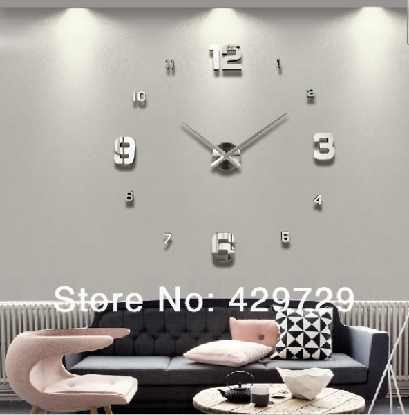digital wall clock Modern design,large decorative designer wall clocks ...