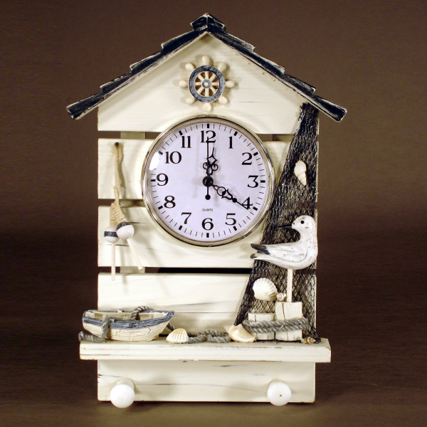 ... Clocks > Wall Clocks > Themed Wall Clocks > Judith Edwards 3578 Beach
