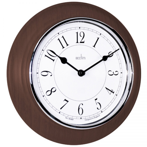 You are here: Home > Newton Dark Wood Wall Clock 20.5cm