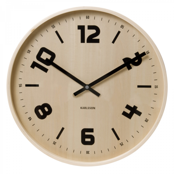 Large Wooden Dutch Wall Clock | Howkapow