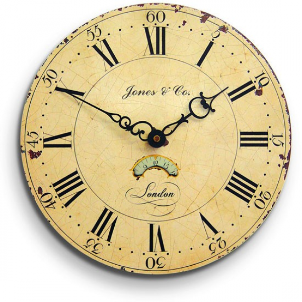 Jones Colombus wall clock from Homebase | Wall clocks for living rooms ...