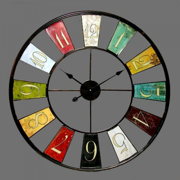 Infinity Instruments Kaleidoscope- 32 Metal Wall Clock [Kitchen] MPN ...