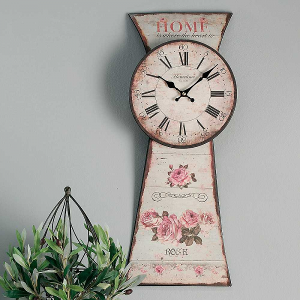 Floral Metal Wall Clock by Kaleidoscope | Freemans