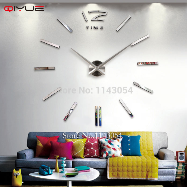 ... wall clocks.watch wall sticker,unique gift,W003 from Reliable watch