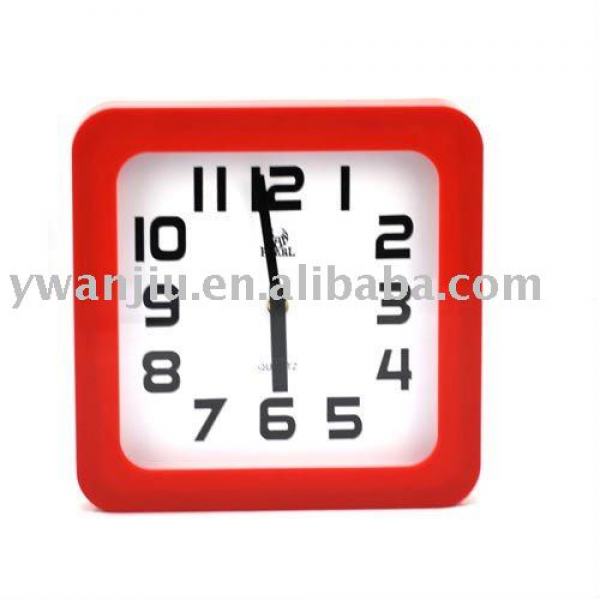 Square Quartz Analog Wall Clock - Buy Wall Clock,Promotional Square ...