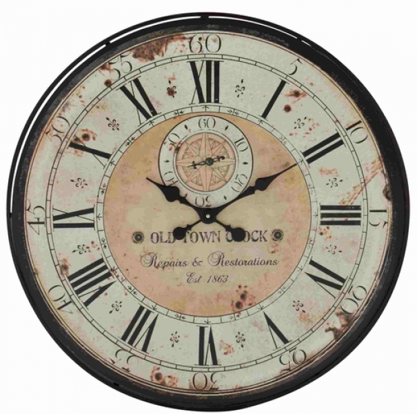 rustic metal wall clocks unique wall clocks www top