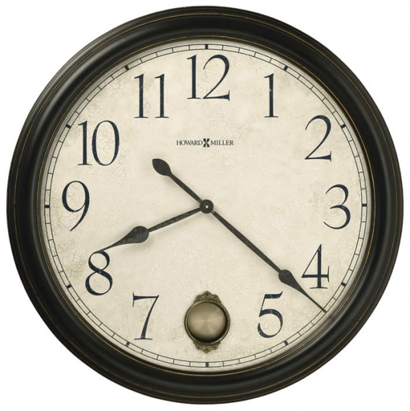 Large Wall Clocks / 625444 Howard Miller Oversized Black Satin Wall ...
