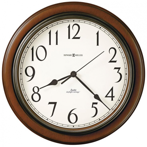Howard Miller Talon 15 1/4 Wide Cherry Wall Clock -
