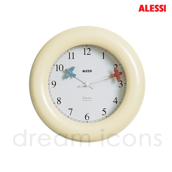 Alessi Ivory Wall Clock - part of the Michael Graves bird series ...
