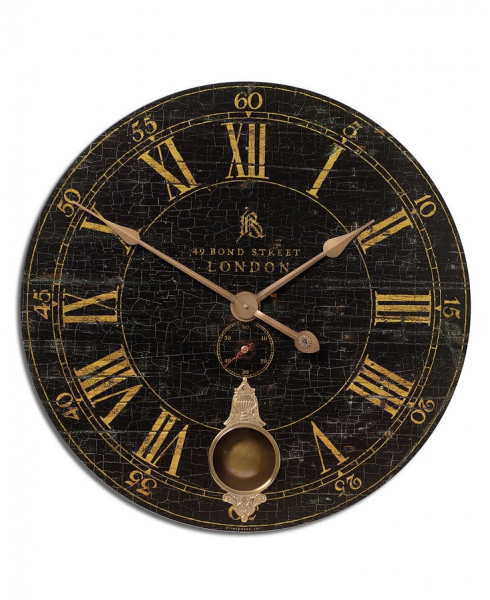 Uttermost Bond Street Wall Clock, 30