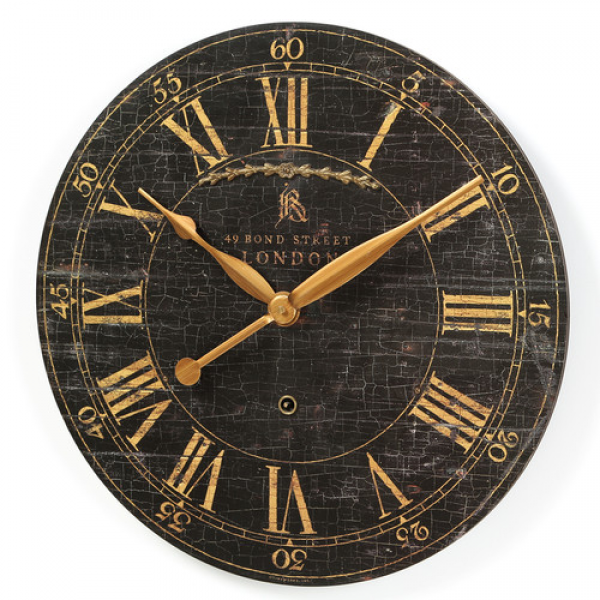 Uttermost Bond Street Wall Clock & Reviews | Wayfair