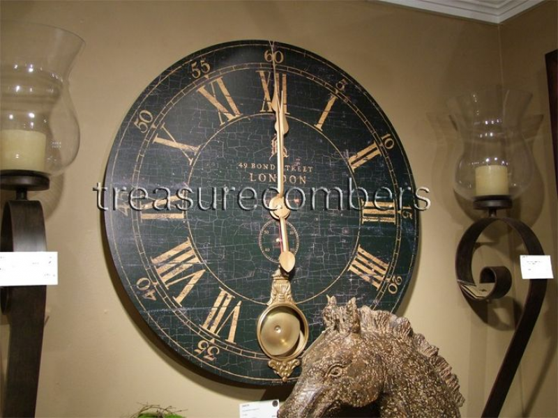 Uttermost // Bond Street Pendulum Wall Clock 30