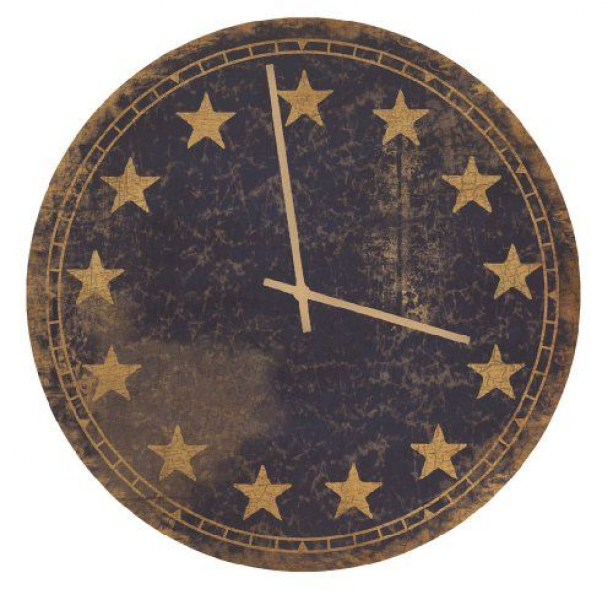 Ohio Wholesale 13-Star Wall Clock, from our Americana Collection Ohio ...