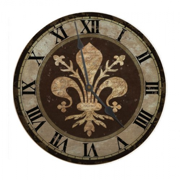 Ohio Wholesale Fleur de Lis Clock, from our Everyday Collection