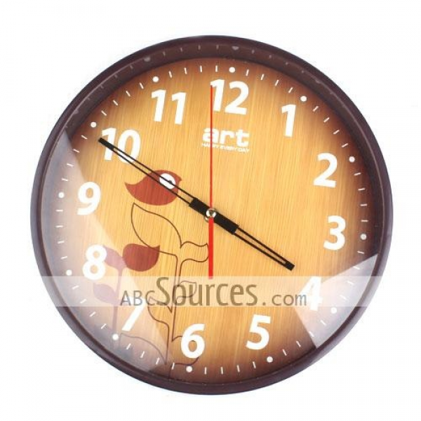 China Wholesale Fashion Home Simple Round Wall Clock