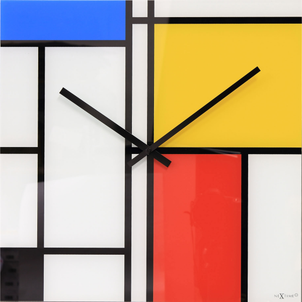 Nextime Time Lines Square Clock A