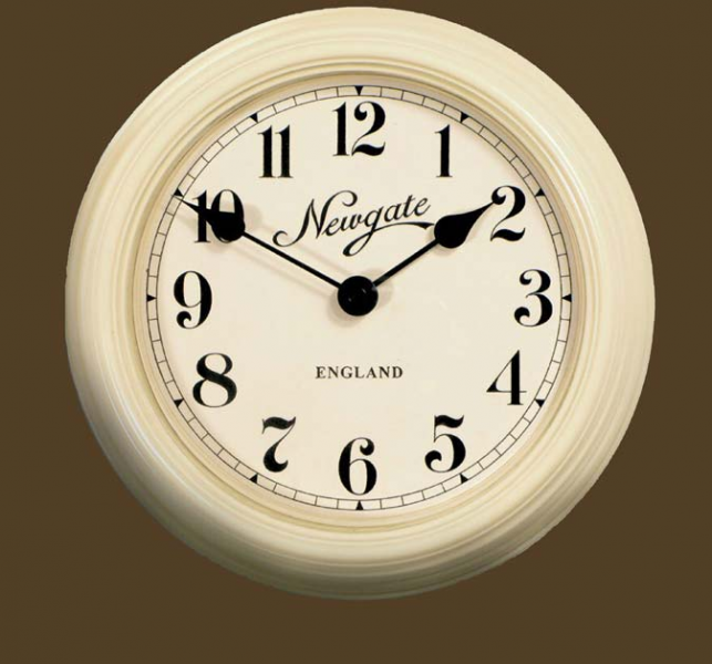 Small Round Wall Clock