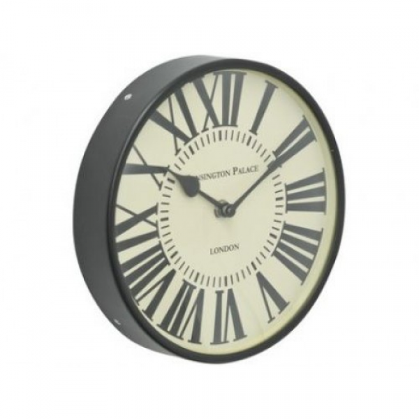 Kensington Small Round Wall Clock with Roman Numerals