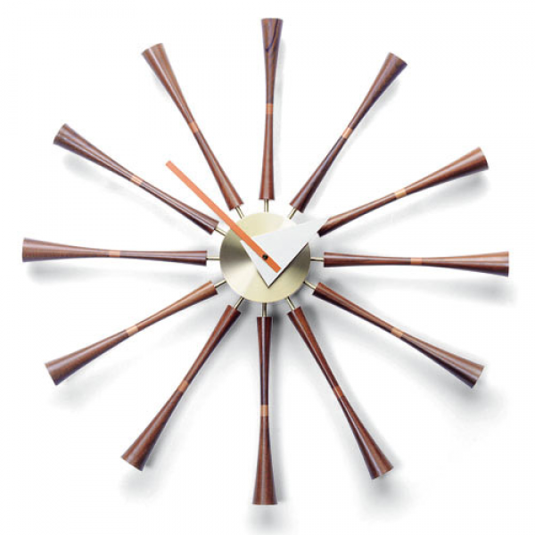 George Nelson Spindle Wall Clock $880 | Luminous Cave