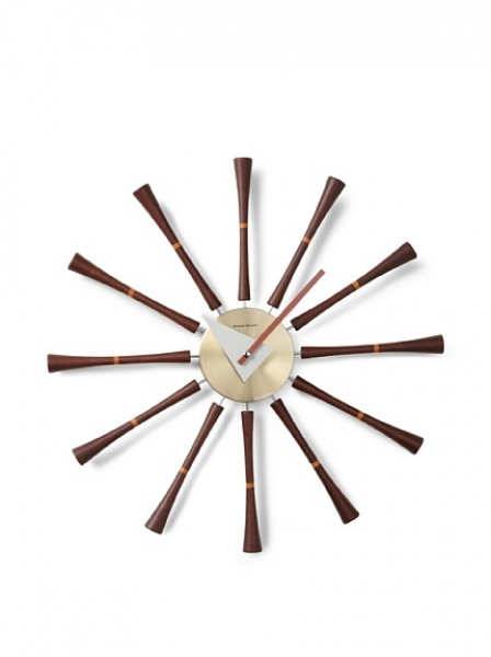 George Nelson Clocks Spindle Wall Clock | George Nelson | Pinterest