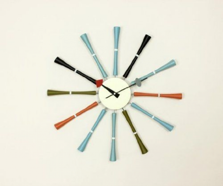 George Nelson Spindle Clock | wish list | Pinterest