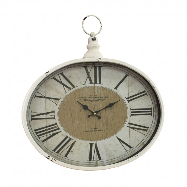 Aspire Home Accents 5258 Westminster Pocket Watch Wall Clock | ATG ...